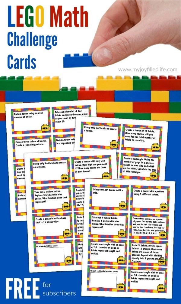 LEGO Math Challenge