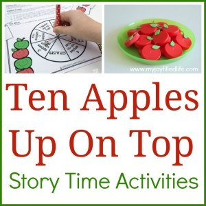Ten Apples Up On Top Story Time Activities