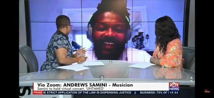 Ghanaian dancehall musician Samini may be caught up outside the country amid the novel coronavirus pandemic. But unlike others, he is not so desperate to return to his home country.