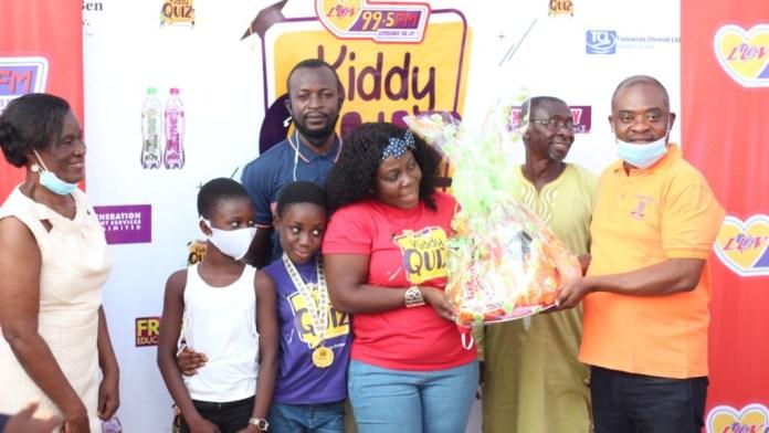 11-year-old Mary-Ann Odoom wins maiden Luv FM Kiddy Quiz 6