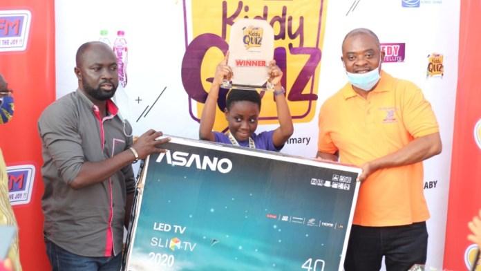 11-year-old Mary-Ann Odoom wins maiden Luv FM Kiddy Quiz 1