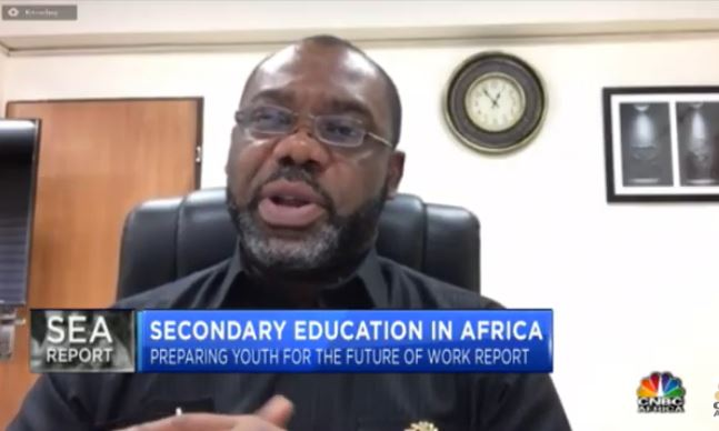 Digital skills required to improve Youth Education – Matthew Opoku Prempeh 1