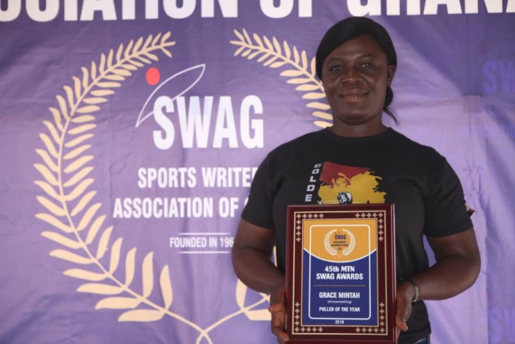 Meet The Muscular Policewoman Who's Ghana's Strongest Armwrestler. 6