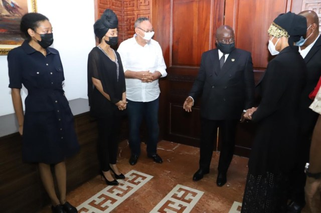 Photos from Akufo-Addo's meeting with Rawlings' daughters – MyJoyOnline.com