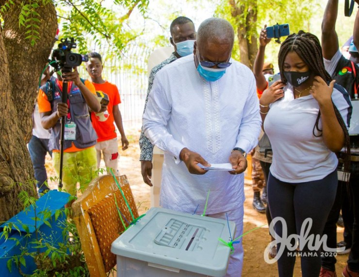 My bodyguard's name has been removed from the register - Mahama laments. 18
