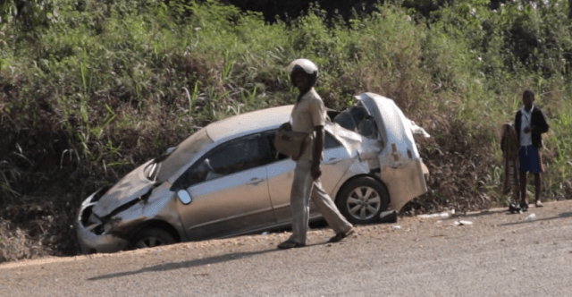 Presbyterian District Pastor Crashed To Death On New Year's Eve [Photos] 1