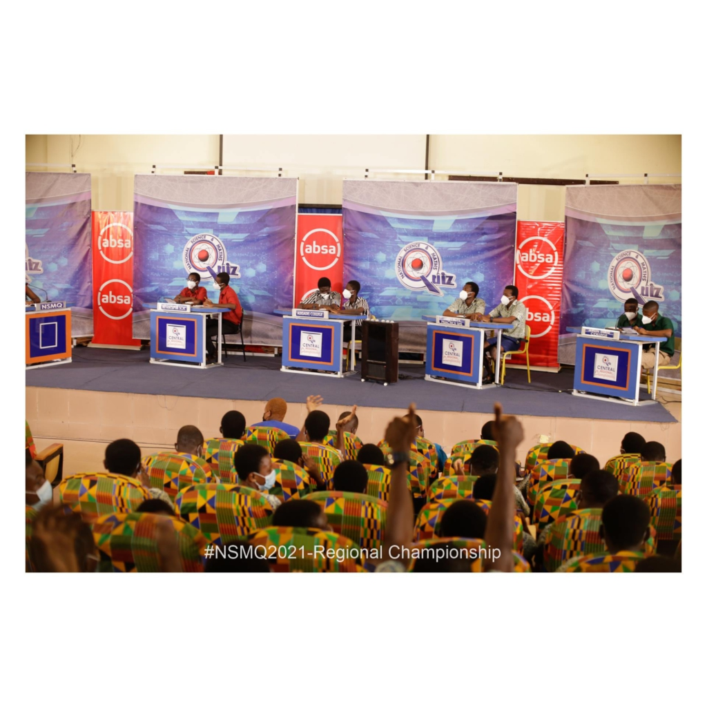 NSMQ 2021: Mfantsipim silences Adisadel, University Practice and Assin State College to win Central Regional Championship 2