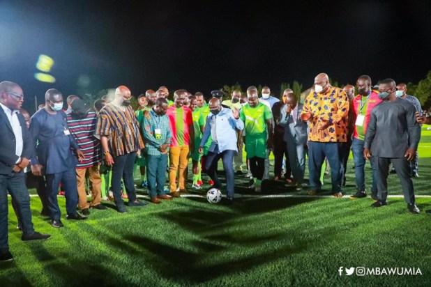 Bawumia commissions ultra-modern Adjiringanor astroturf