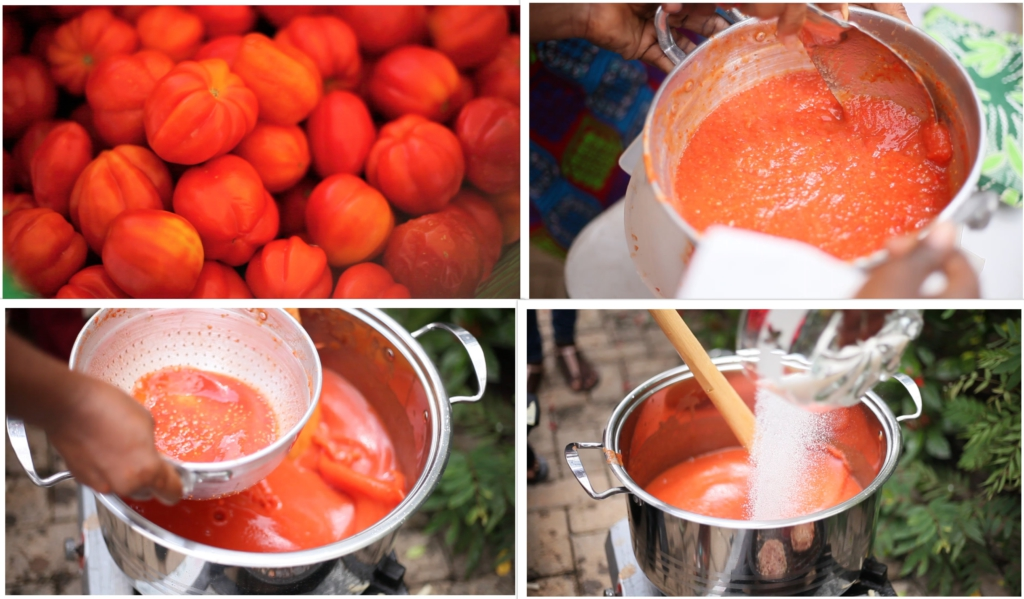 Crops Research Institute trains youth in micro-scale tomato ketchup production