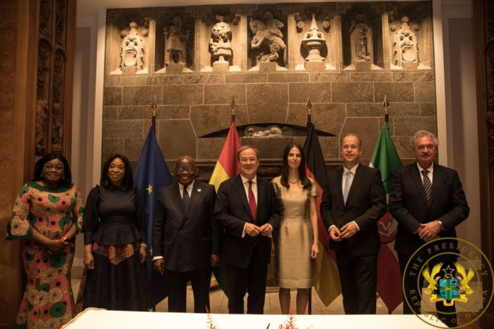 Ghana, North Rhine-Westphalia sign agreement for cooperation in 7 sectors