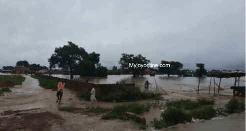 Tamale records second flood in 3 days; more residents displaced