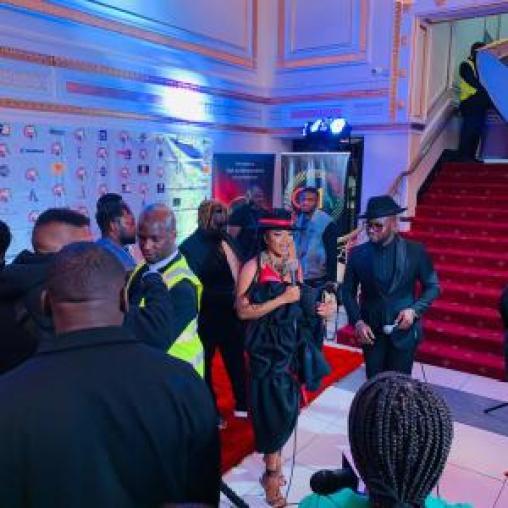 Doreen Avio's trailblazing look at Kab-Fam Ghana Music Awards UK 21 was designed and styled by Kojo Vandie