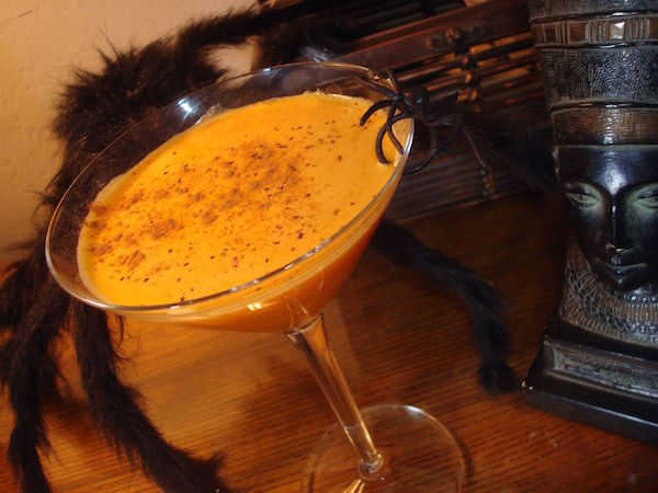 Pumpkin Juice Recipe (with or without spirits)