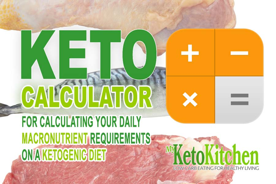 Keto calculator for ketogenic diet macros