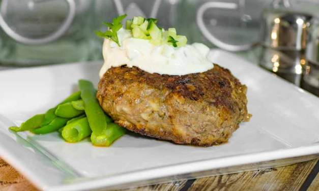 Keto Burgers Recipe – Lamb and Halloumi – Juicy & Delicious