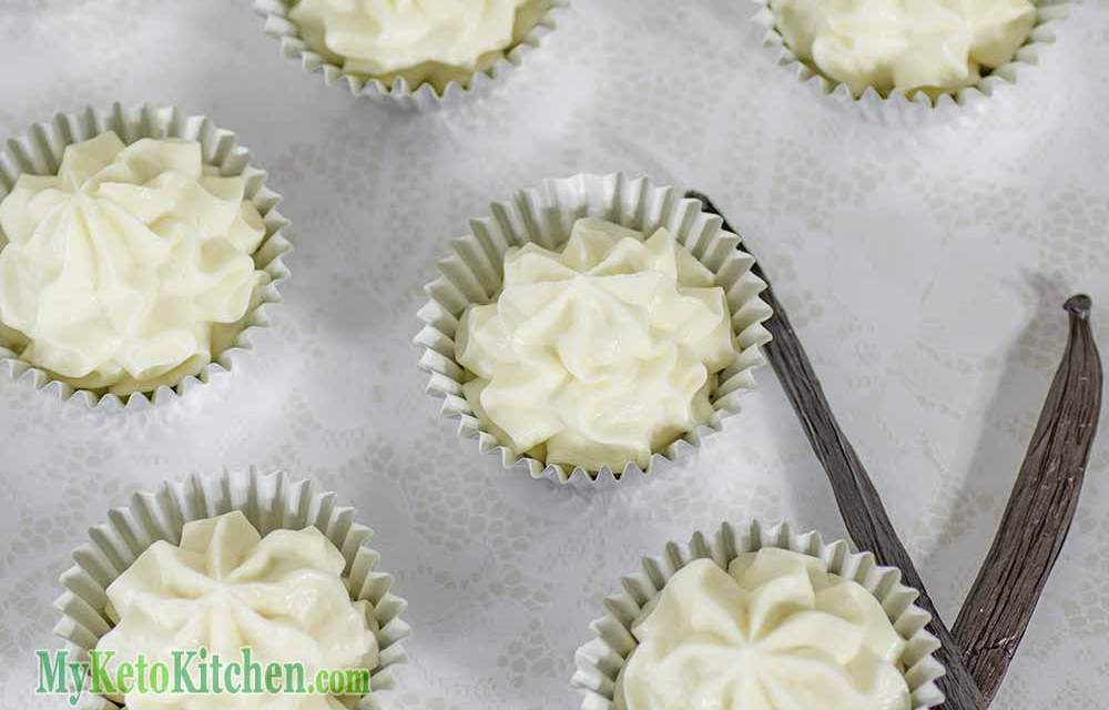 Vanilla Cheesecake Fat Bombs