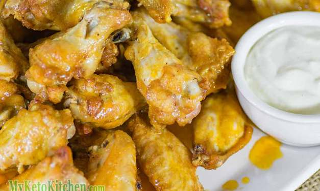 Buffalo Wings the Perfect Deep Fried Chicken Recipe for Low-Carb, Keto Diets