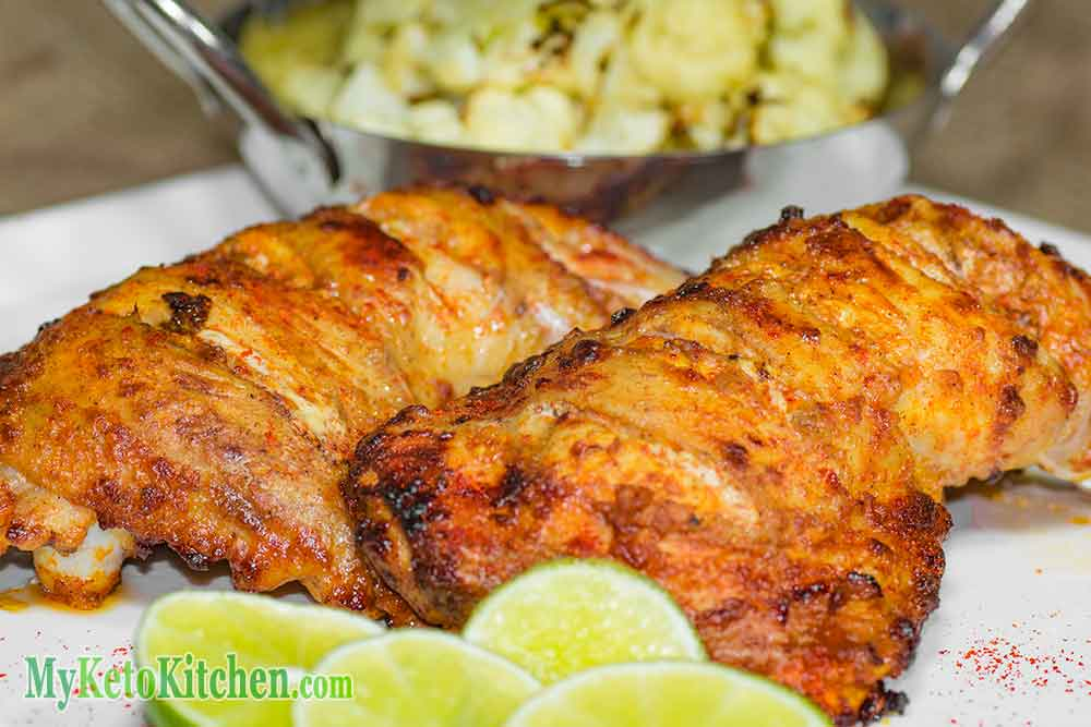 Perfect Keto Tandoori Chicken