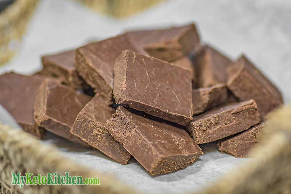 Rich Keto Chocolate Fudge