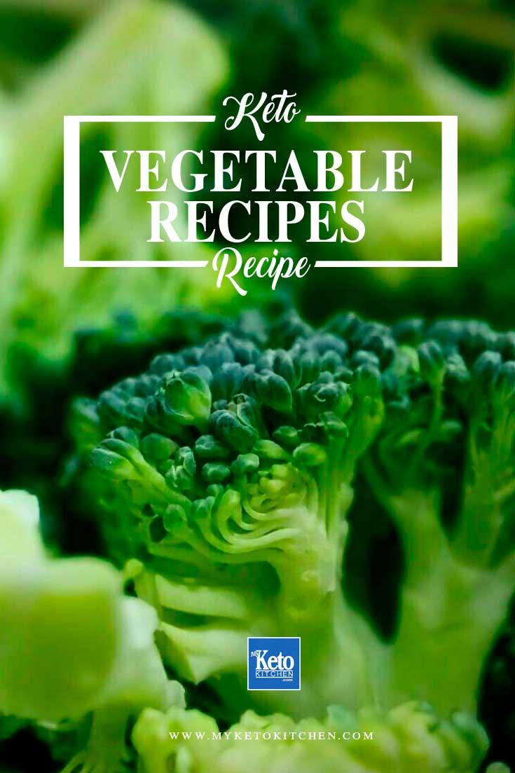 keto vegetable recipes