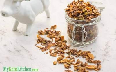 Low Carb Cinnamon Keto Cereal