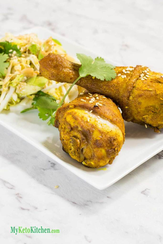Low Carb Indonesian Chicken Drumsticks