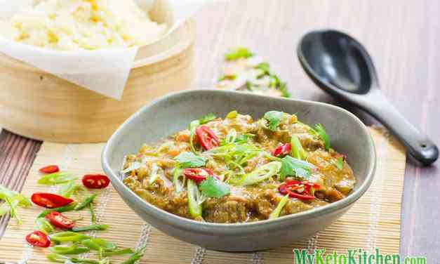 Spicy Ketogenic Pork Vindaloo Curry