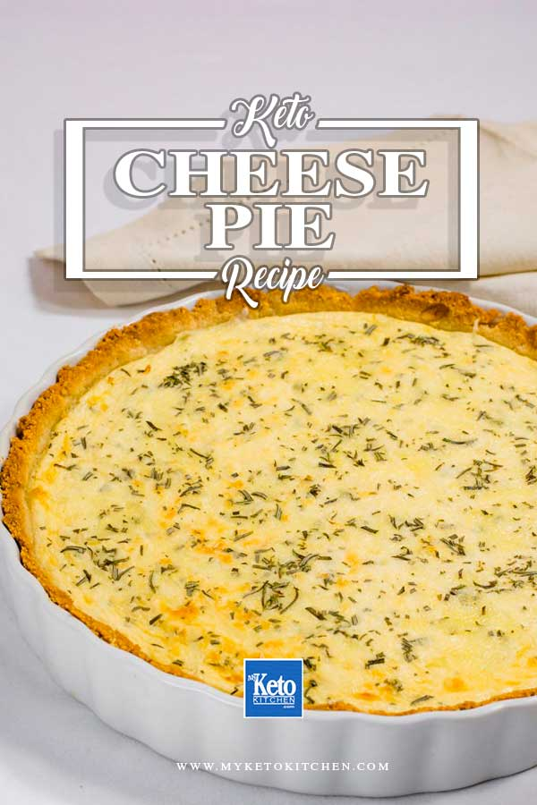 Keto Cheese Pie Recipe Low Carb And Gluten Free Crust