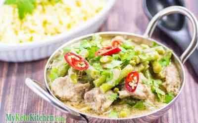 Low Carb Pork Coconut Curry