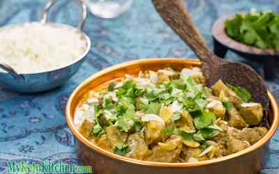 Creamy Low Carb Lamb Madras Curry