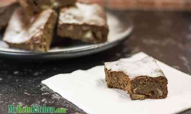 Low-Carb Brownies Recipe – Chocolate Macadamia Nut – Chewy & Sweet