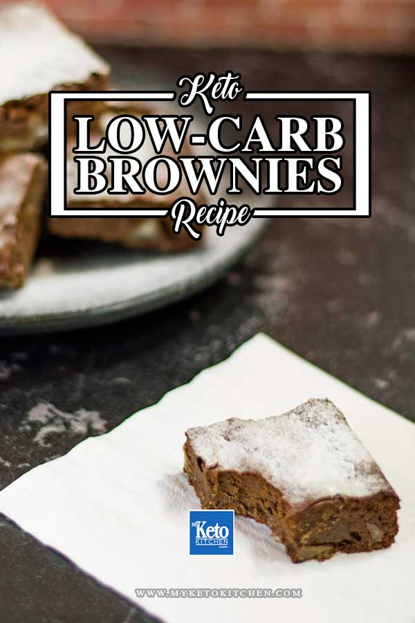 Low-Carb Brownies Recipe - Chocolate Macadamia Nut - Chewy & Sweet