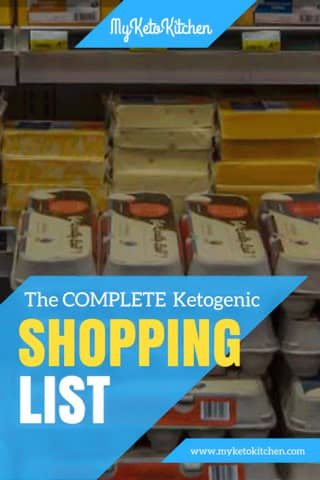 The Complete Ketogenic Shopping List