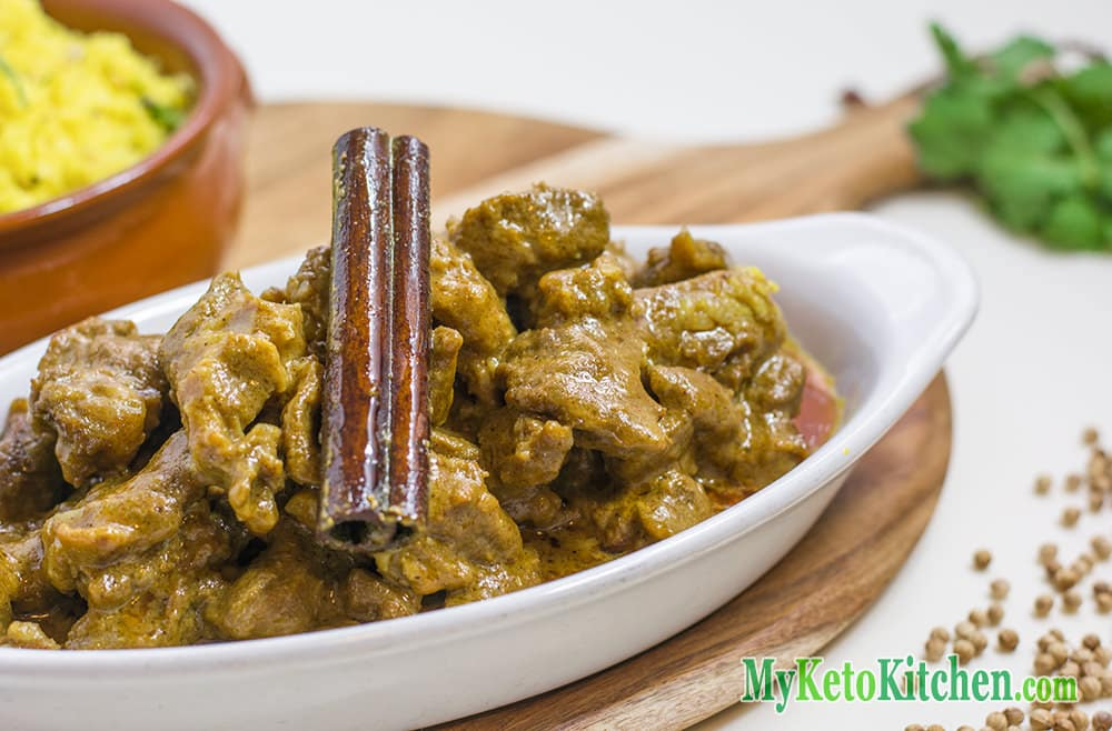 Low Carb Nut-Free Lamb Korma Curry