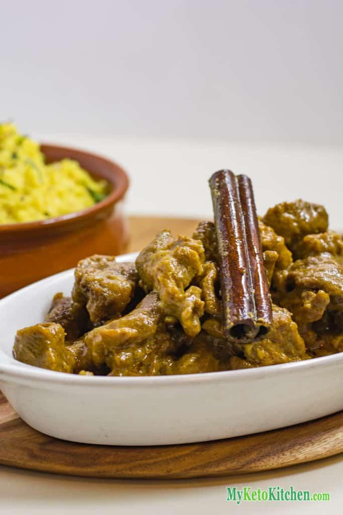 Low Carb Nut-Free Lamb Korma Curry