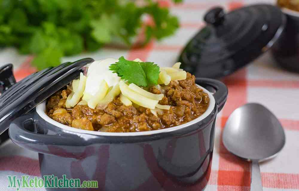 Keto Chili Con Carne – Low Carb Spicy Meat – NO Beans!
