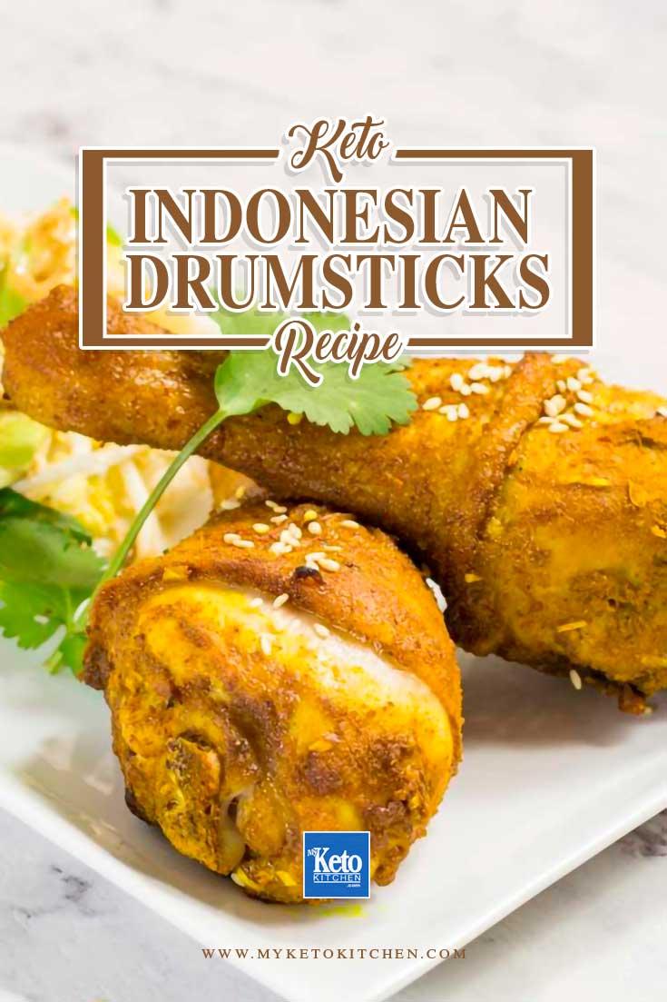 Chicken Drumsticks Recipe Indonesian Style