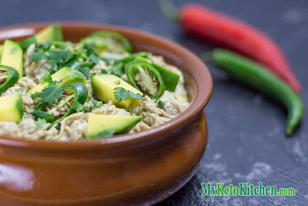 Keto White Chilli