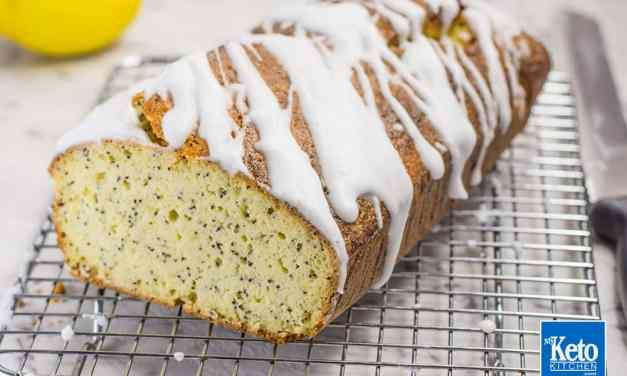 Keto Starbucks – Gluten Free Lemon Loaf with Poppy Seed FREE Recipe