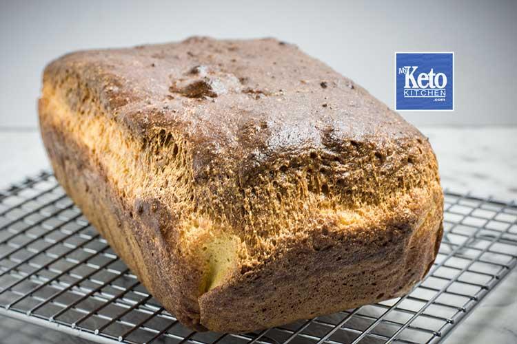fresh baked keto bread