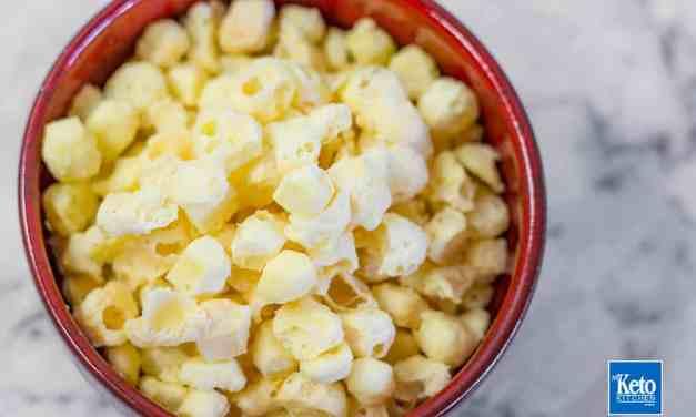 Keto Popcorn Recipe Cheese Puffs – 1 Ingredient EASY!