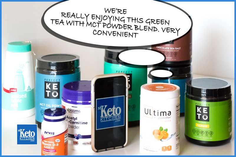 green tea keto supplements