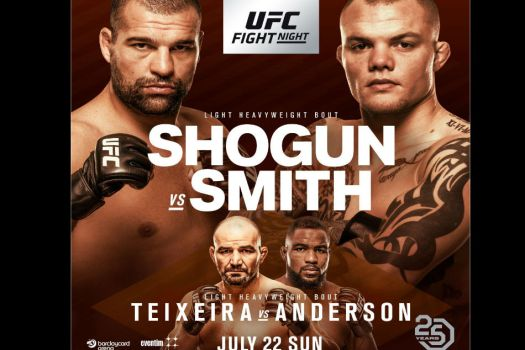 UFC Fight Night 134: Shogun vs. Smith fight card and TV ...