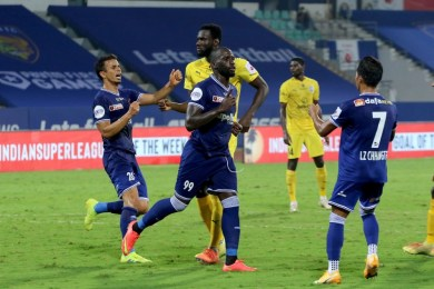 ISL 2020-21: MCFC 1-1 CFC: Mumbai blunder gifts late equaliser to Chennaiyin for a crucial point