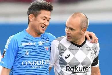 Long live the king! Kazuyoshi Miura signs new Yokohama contract ahead of 54th birthday