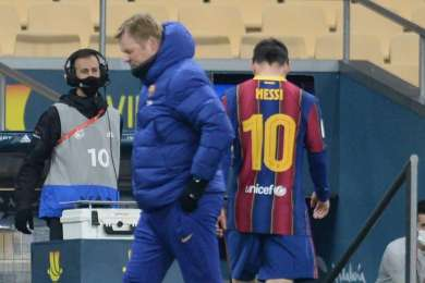 Messi faces ban after first red card of Barcelona career