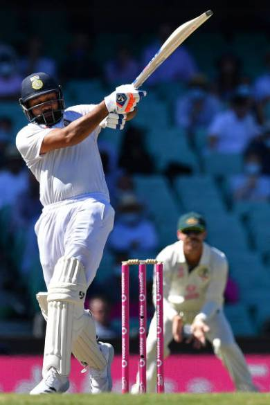 Rohit Sharma gives this explanation after playing a poor shot to get out to Nathan Lyon at Gabba