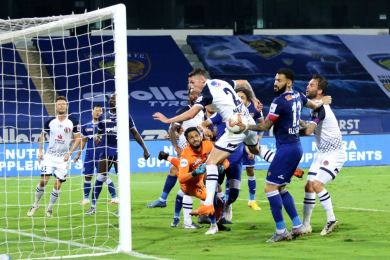 ISL 2020-21: CFC vs SCEB: 10-men enough for SC East Bengal to gain a point against Chennaiyin