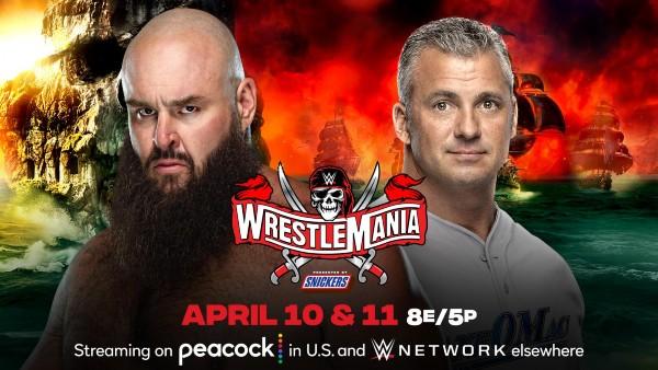 Steel Cage Match: Shane McMahon vs. Braun Strowman