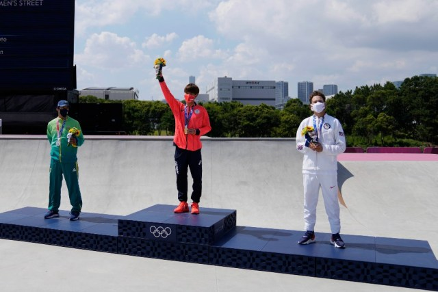 टोक्यो 2020: जापान के होरिगोम ने जीता पहला ओलंपिक स्केटबोर्ड गोल्ड